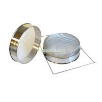 "Сито-фильтр для меда двойной диаметр 230 мм н/ж ""Евро"" ячейка 1х1 мм"